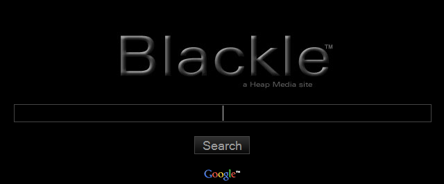Eco Scout Tip: Save Energy Setting Google-Powered Blackle Search Engine as Browser Home Page; Two Clicks Save Energy
